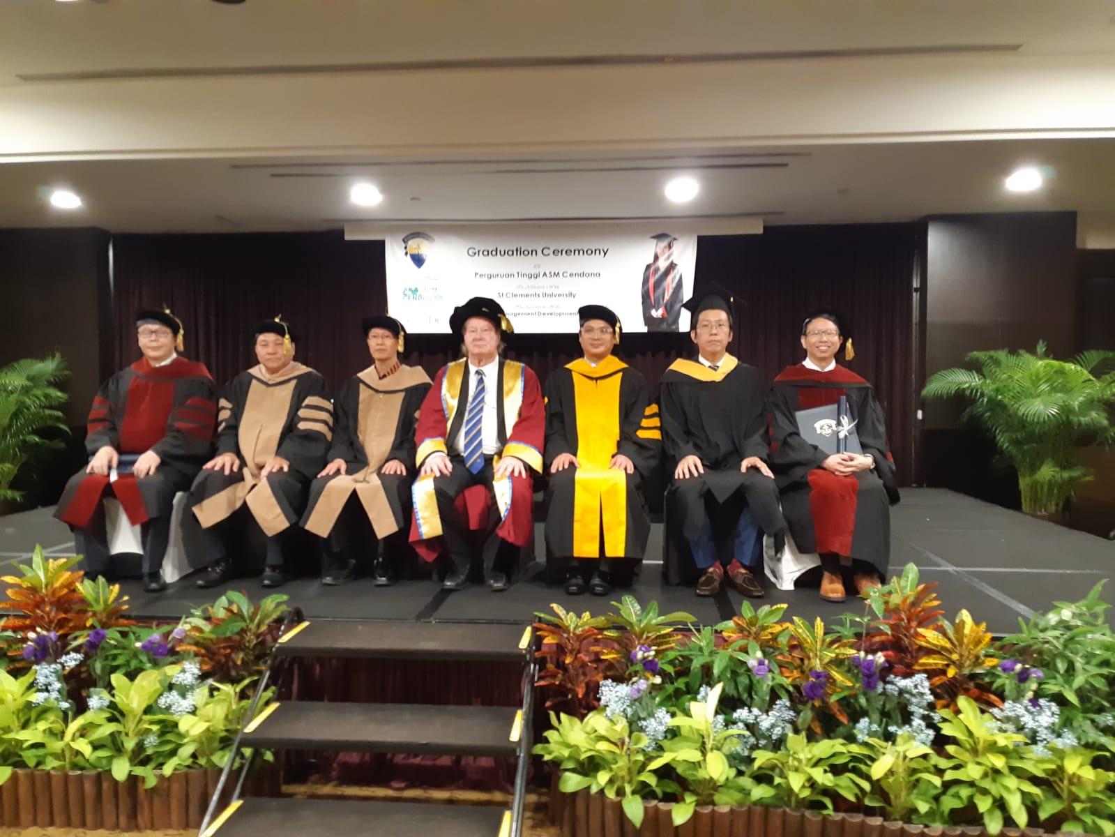Graduation in Singapore July 2019