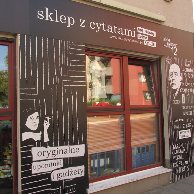 Sklep z cytatami, czyli miejsce, które odwiedziłam będąc w Poznaniu