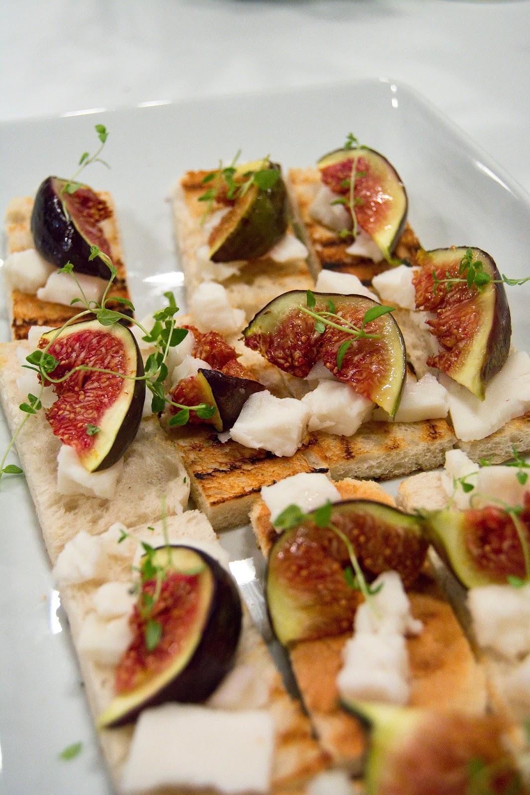 Atuty - krótki kurs kuchni francuskiej - tosty z figami