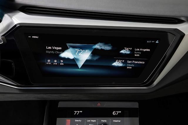Audi HMI - o novo sistema de navegação