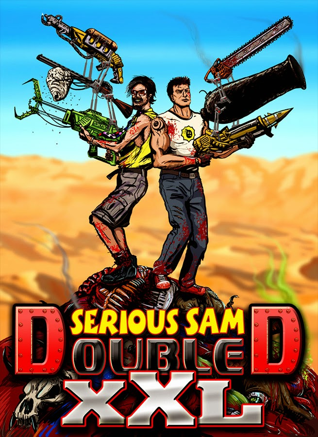 SERIOUS SAM DOUBLE D XXL WITH CRACK