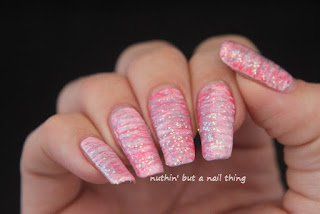 40 Great Nail Art Ideas - Glitter Topper