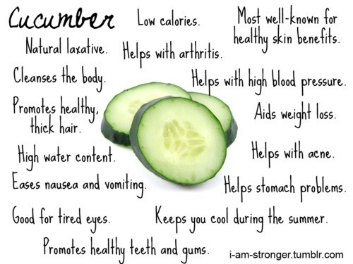 Cucumber Beauty And Health Tip Tips