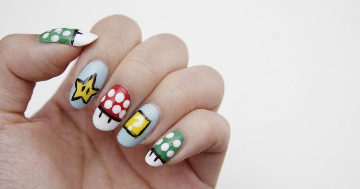 fun size beauty: #MANIMONDAY: Super Mario Nails