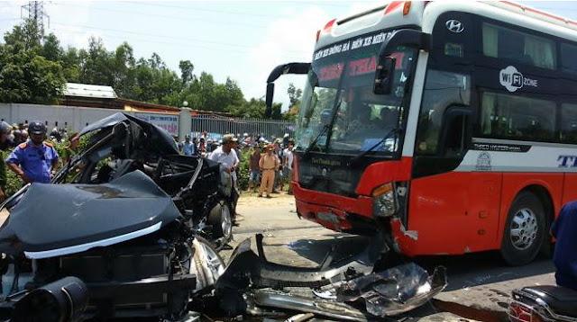 Suối Mơ là 70km/ giờ, tài xế Lê Nhật Phương lái xe với tốc độ 106km/giờ, tông chết 7 người.