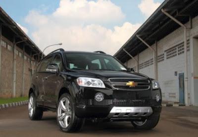 Eksterior Chevrolet Captiva Bensin/Diesel pre-facelift