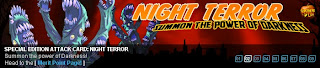 Night Terror banner at Superhero City