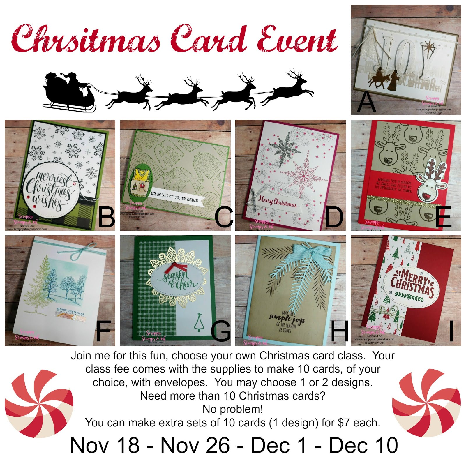 Christmas Card Event