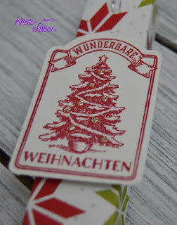 Adventskalender, stampinup, Schokoladenaufzug, Verpackung