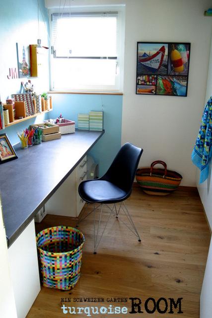 ein schweizer garten trendfarbe t rkis. Black Bedroom Furniture Sets. Home Design Ideas