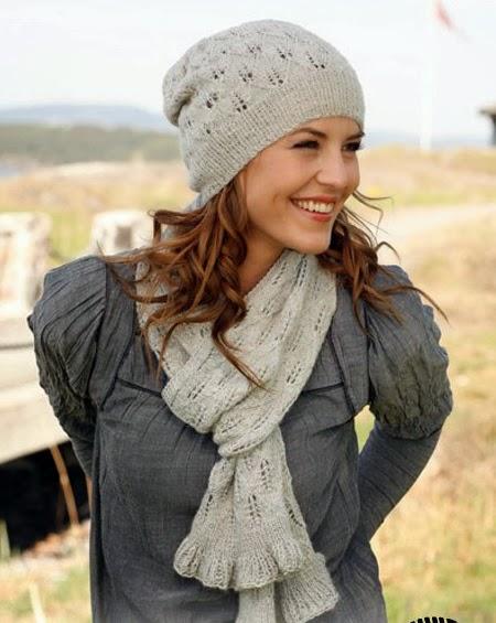 под силу каждой девушке. . Тем более, что вязать шарф занятие... Зимой 2014 года вязаный женский шарф спицами или
