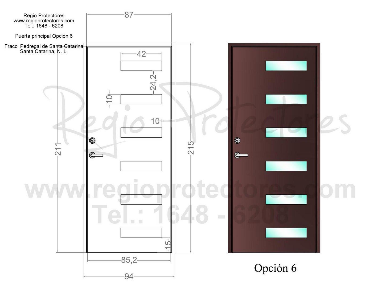Top pin puertas principales de wallpapers - Diseno de puertas ...