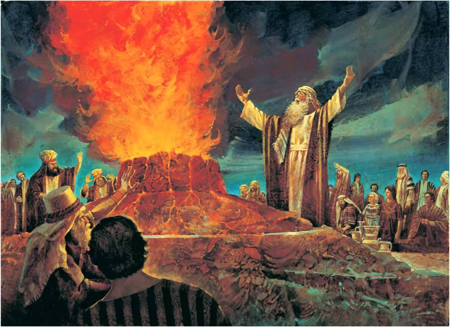 Герои Танаха: Пророк Элияу