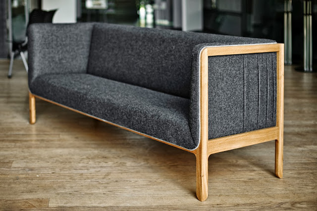 Tuck sofa by Sverre Ungher, presented at 100% Norway 2013