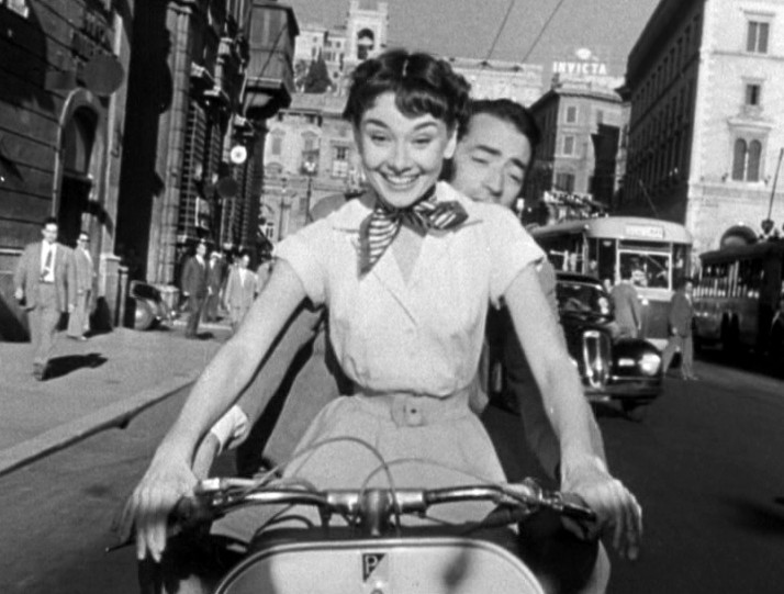 Audrey Hepburn & Gregory Peck, Roman Holiday