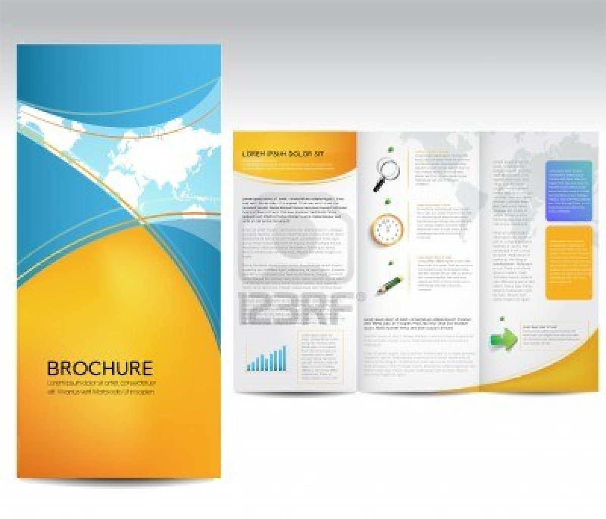 Free Pamphlet Templates - Free tri fold brochure templates for word