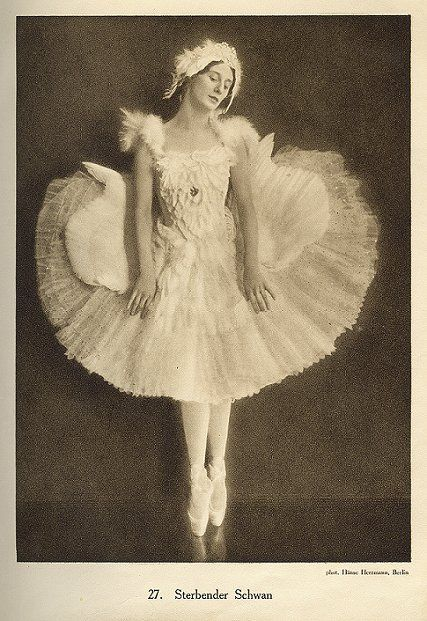 anna pavlova dying swan