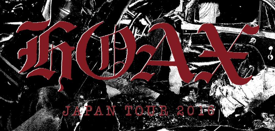 HOAX JAPAN TOUR 2016