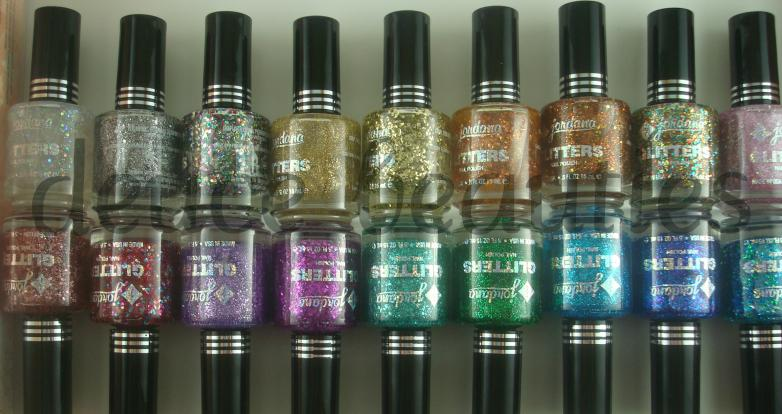 Deuce Beauties: Jordana: Glitter Specialty Nail Polish (Picture Heavyyy)