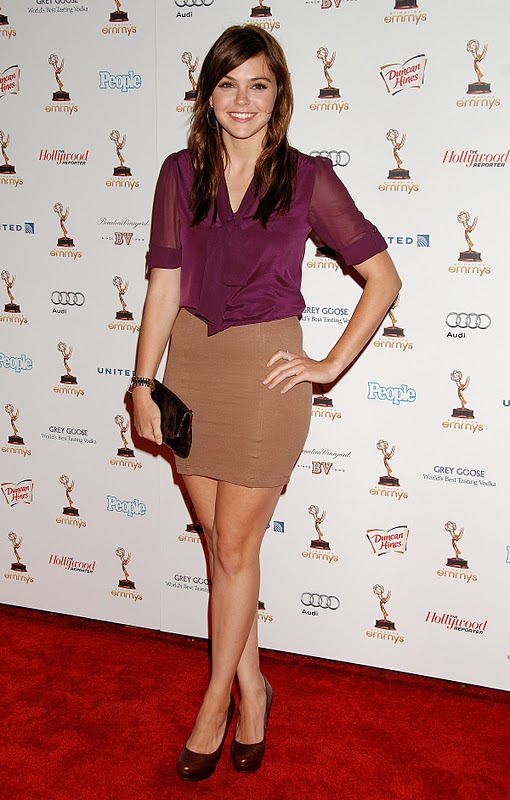 Aimee Teegarden at Performers Nominee Reception