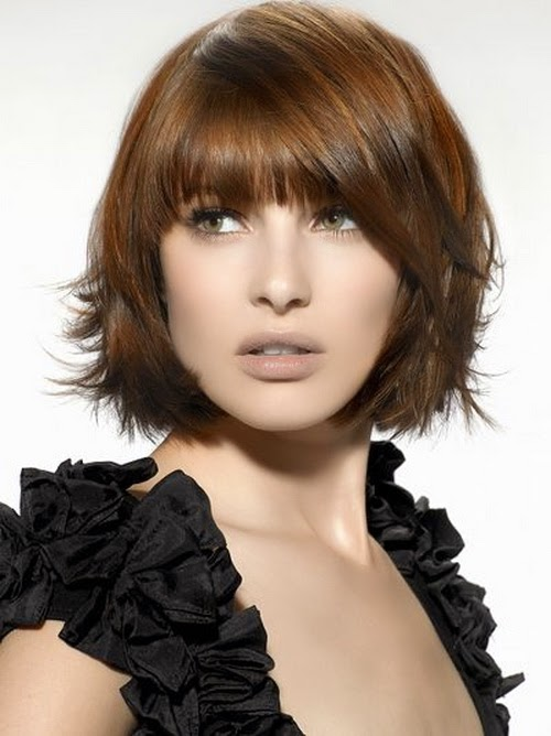 thin hairstyles for short hair