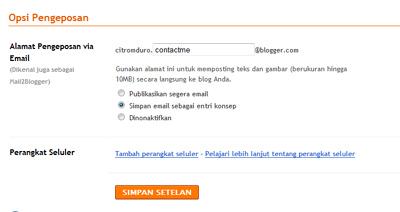 pengeposan opsi email by citromduro