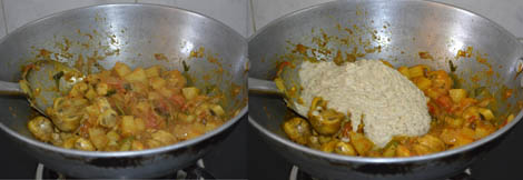 Mushroom Kuzhambu recipe