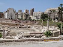 Roman Amphitheatre, Alexandria.