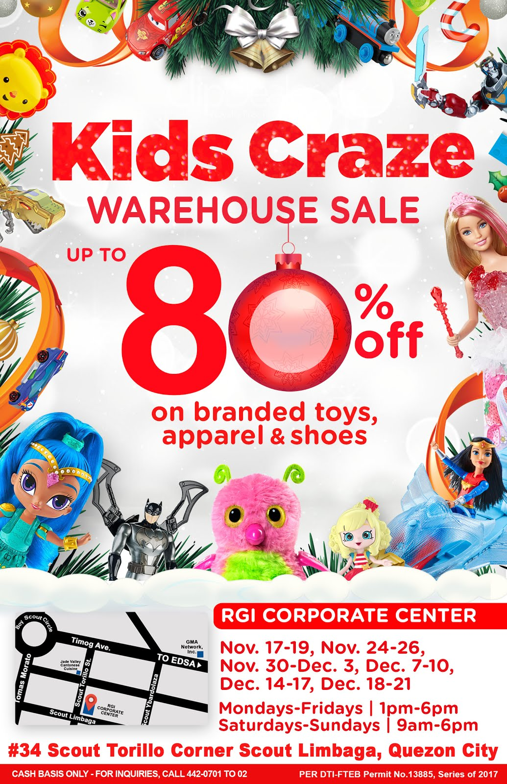 KIDS CRAZE SALE 2017
