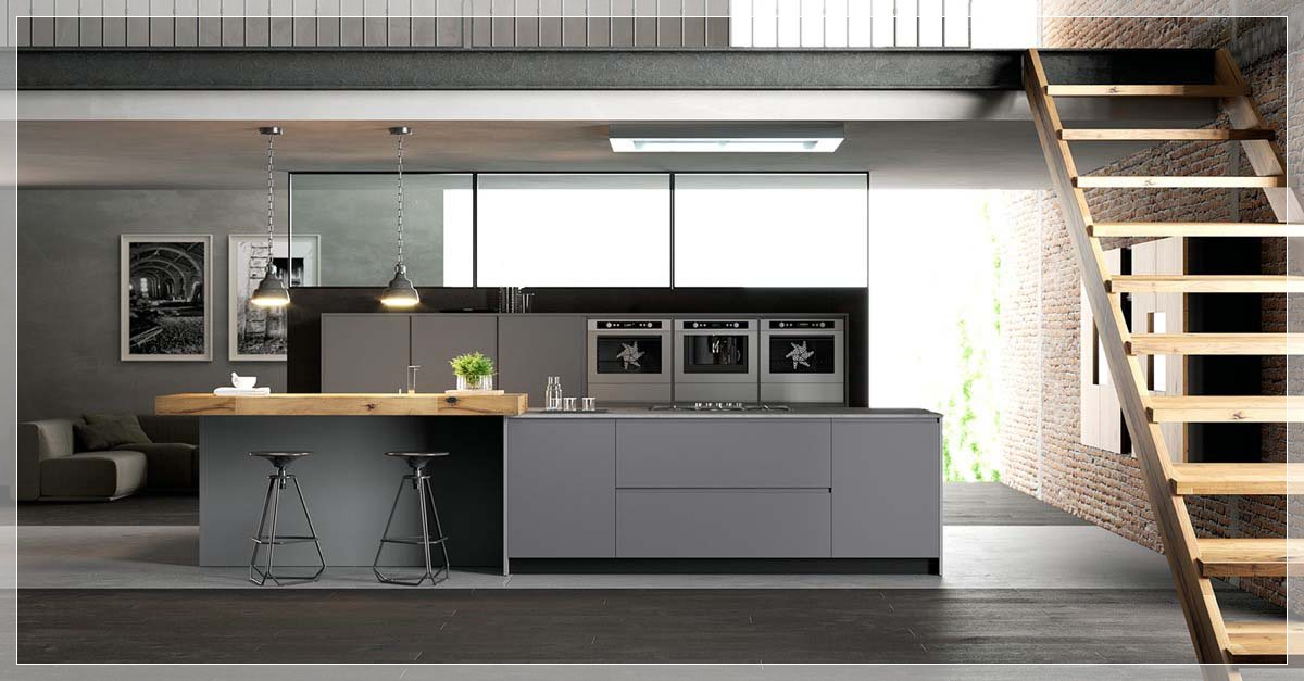 Svart, hvit & tre kjøkken: ideer & inspirasjon   interiør inspirasjon