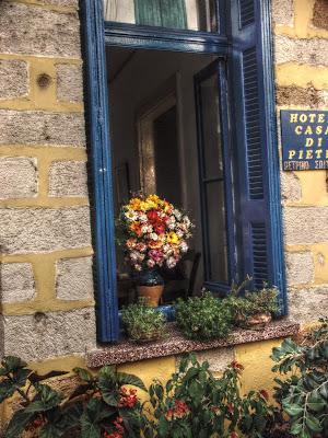 hotel shutters on Crete
