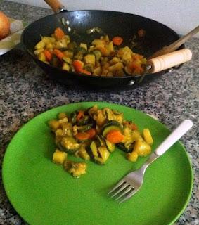 contorno di verdure speziate