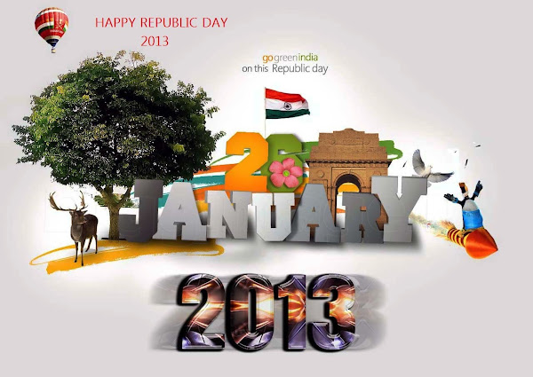Happy Republic day - A World Of Possibilities