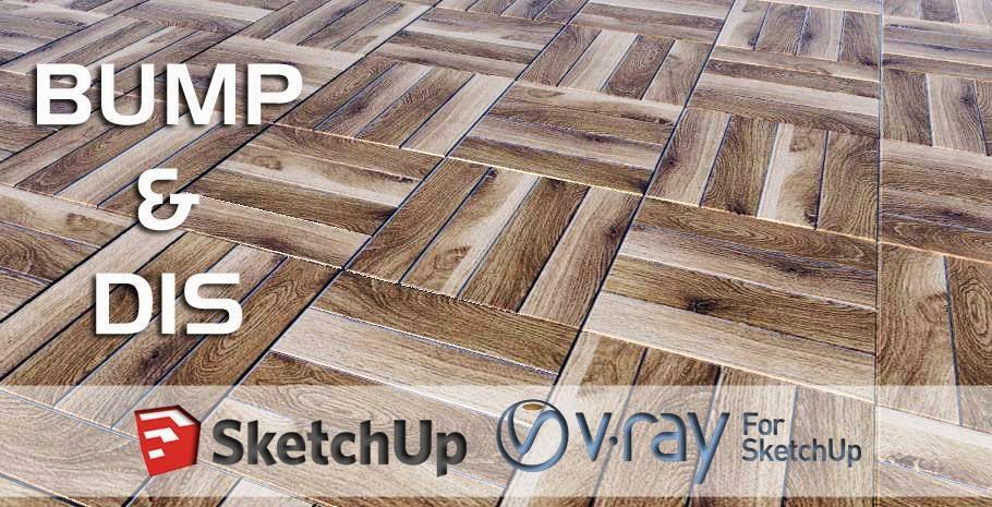 Cách tạo sàn nhà giống thật trong sketup