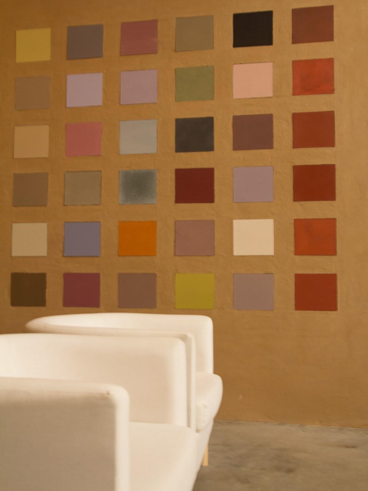 LES COULEURS Pigments Naturels Unis à Des Matières De Base Minérale ( Peintures Minérales Et à La Chaux), Végétale (peinture Aux Résines  Végétales), ...