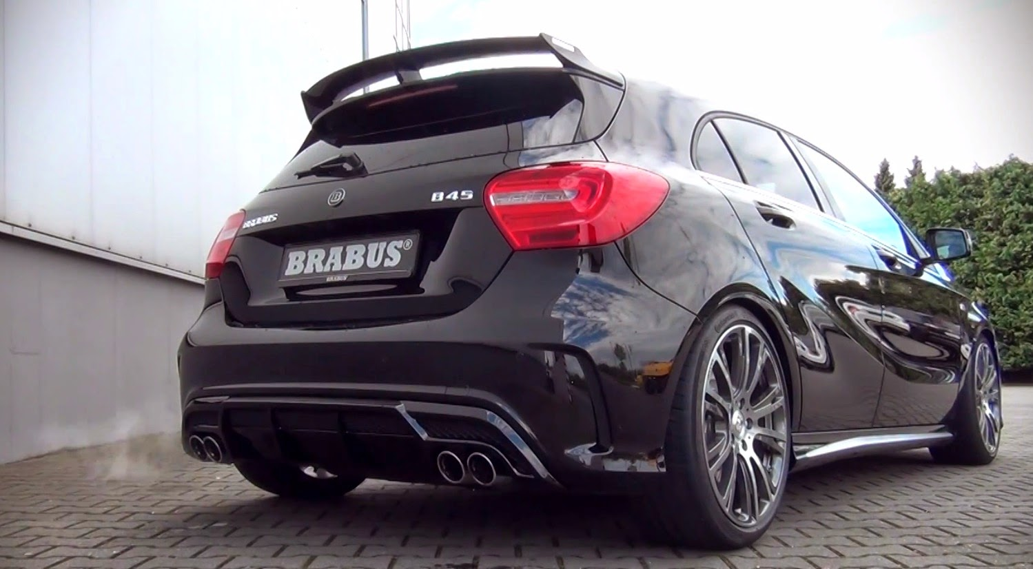 demo bkb brabus mercedes a45 amg. Black Bedroom Furniture Sets. Home Design Ideas