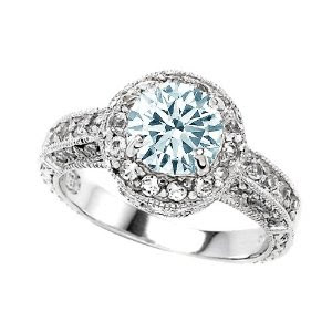 engagement rings aquamarine