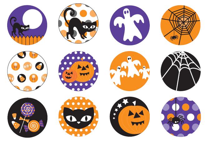 Halloween Cake Toppers Printable