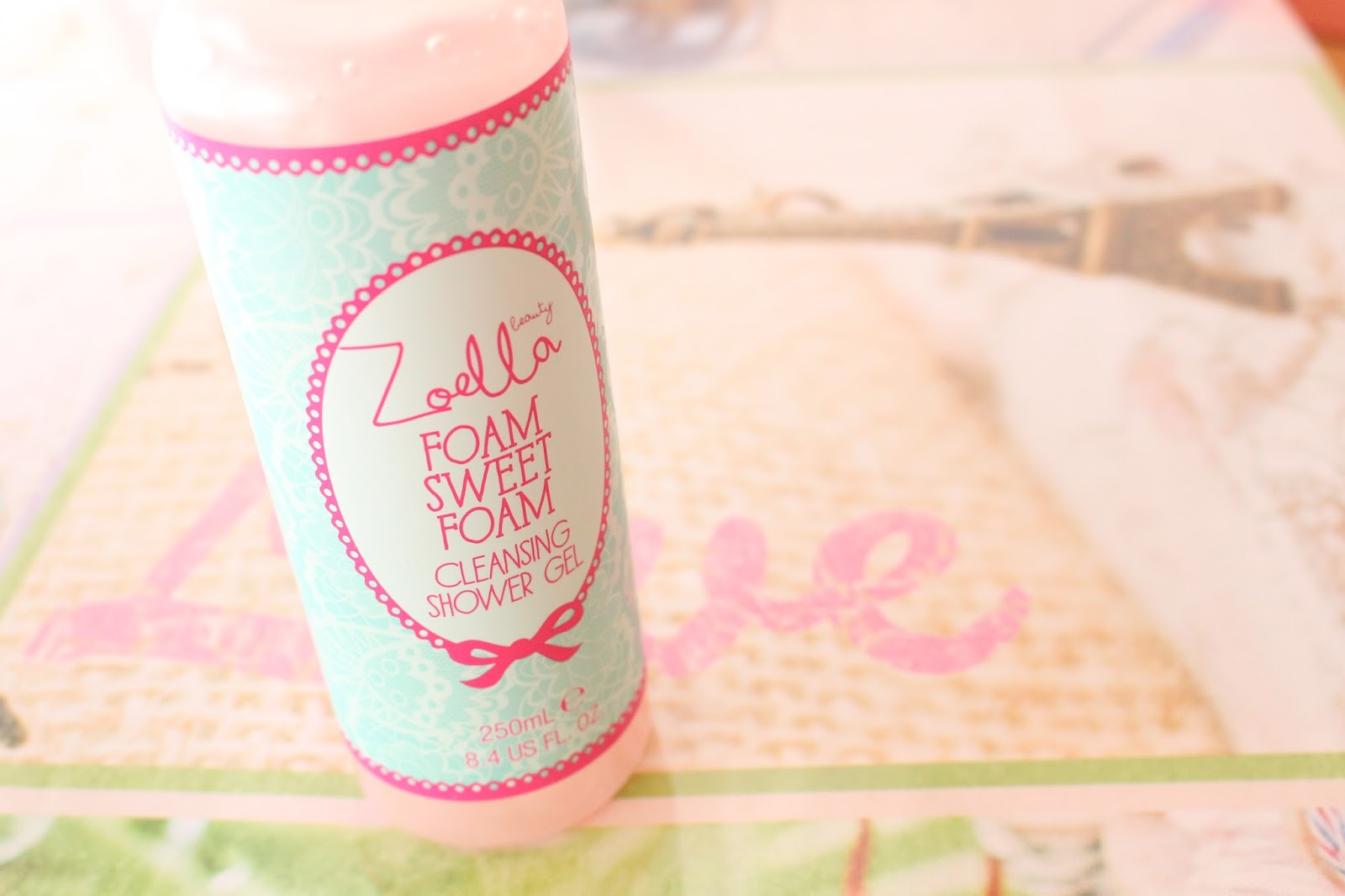 zoella beauty foam sweet foam shower gel