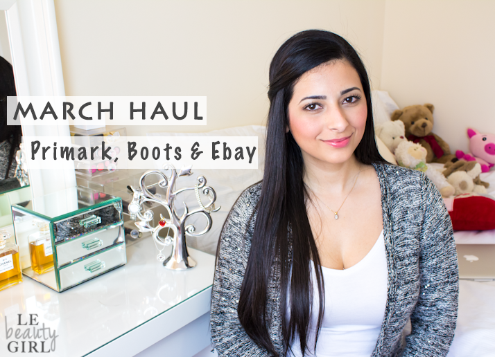 March 2013 Drugstore and Ebay Haul: Primark, Maybelline, Rimmel, Sleek, Ebay and more!