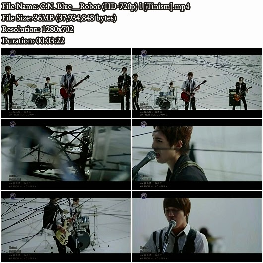 Download PV C.N. Blue - Robot (HD 720p)