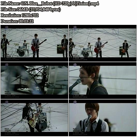 Download PV C.N. Blue - Robot (HD 720p)