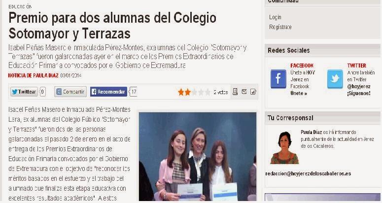PREMIOS EXTRAORDINARIOS DE PRIMARIA 2012/2013