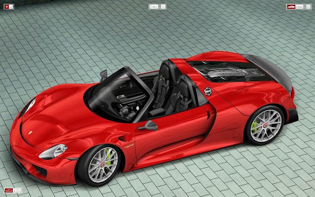 911 turbo pictures videos 918 spyder car configurator. Black Bedroom Furniture Sets. Home Design Ideas