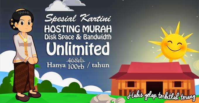 Hosting Unlimited Murah Hanya Rp 100 ribu Per Tahun