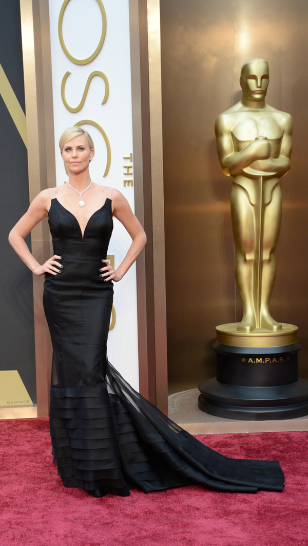 Charlize Theron's Oscar 2014 Dress by: Christian Dior