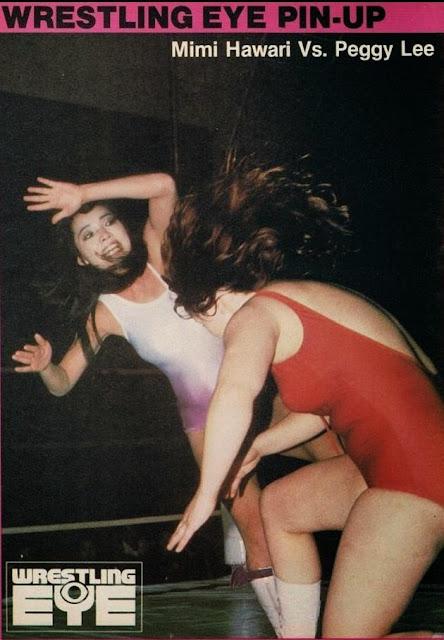 Mimi Hagiwara vs Peggy Lee - Japanese Women Wrestling
