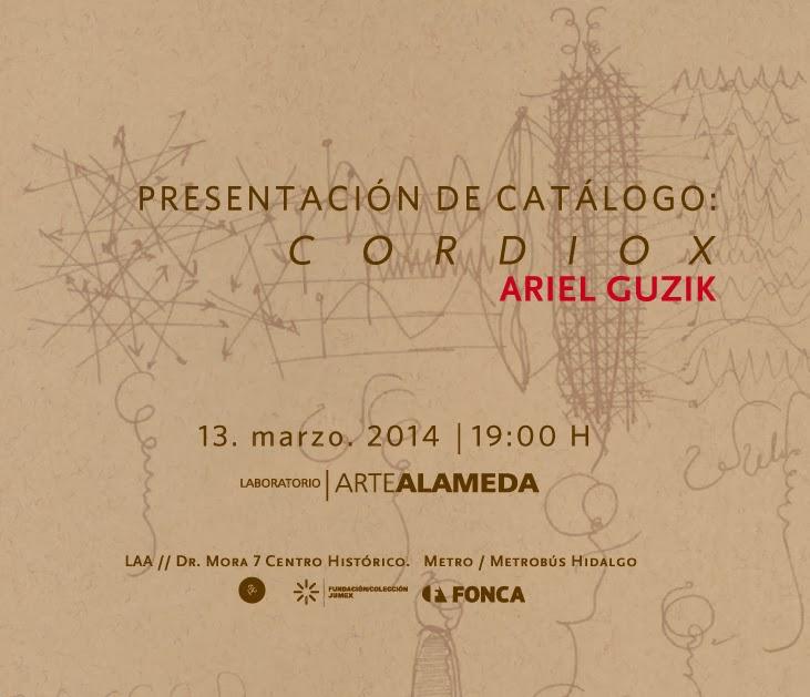 Presentación del catálogo CORDIOX de Ariel Guzik