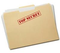 Top secret e-mail.