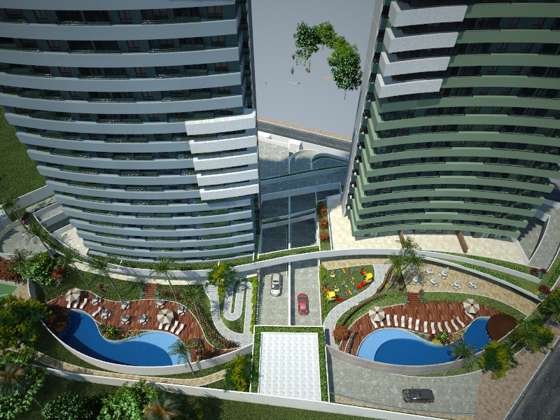 Property investment in Natal,Brazil.: Apartment project for sale ...